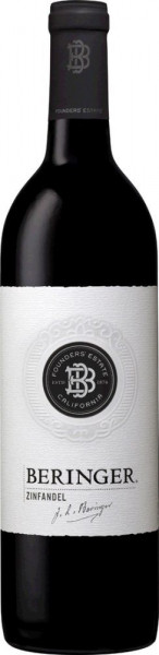 Beringer, Zinfandel Founders Estate, 2017