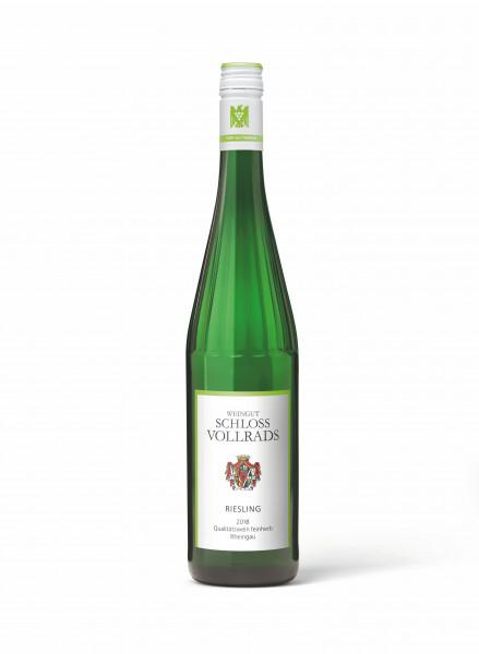 Schloss Vollrads, Riesling Qualitätswein feinherb, 2018
