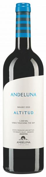 Andeluna Cellars, Malbec Andeluna Altitud, 2016
