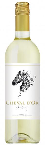 Cheval d'Oc, Chardonnay, Vin de Pays d'Oc, 2019