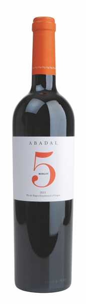 Abadal, 5 Merlot Pla de Bages DO, 2016/2017