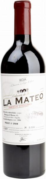 Bodegas Mateos, Parcelas Singulares Coleccion de Familia Rioja DOCa, 2015
