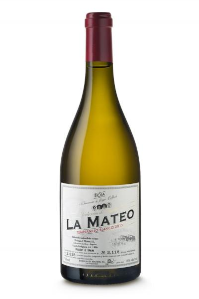 Bodegas Mateos, Tempranillo Blanco Rioja D.O.Ca, 2017