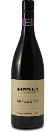 A Mano, Imprint Appassito di Puglia IGT, 2017
