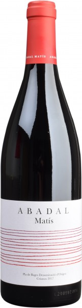 Abadal, Crianza Pla de Bages DO, 2016