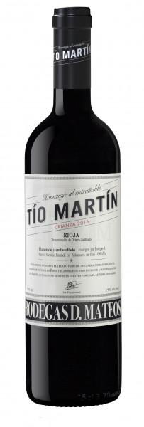 Bodegas Mateos, Tio Martin Crianza Rioja DOCa, 2016