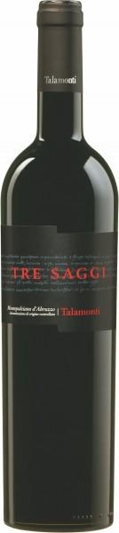 Talamonti, Tre Saggi Montepulciano d'Abruzzo DOC, 2016