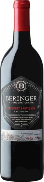 Beringer, Cabernet Sauvignon Founders Estate, 2018