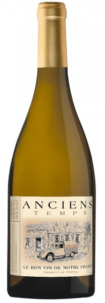 Anciens Temps, Sauvignon Chardonnay, 2019