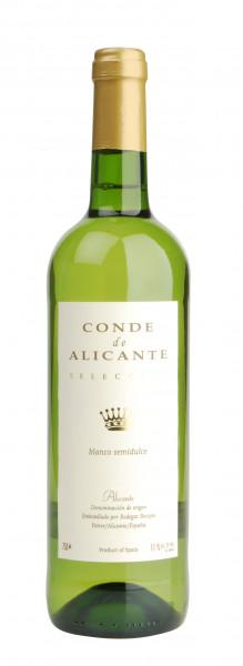 Conde de Alicante, Blanco semidulce, 2020