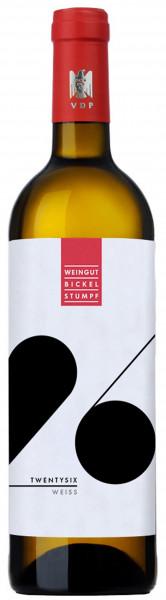 Bickel-Stumpf, Twentysix Weiss QbA trocken, 2019