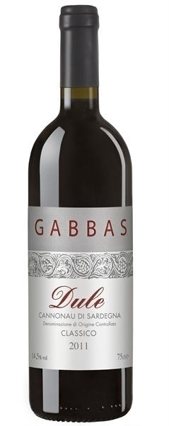 Gabbas, Dule Cannonau di Sardegna 2012