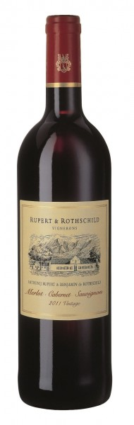 Rupert & Rothschild, Cabernet Sauvignon / Merlot, 2017