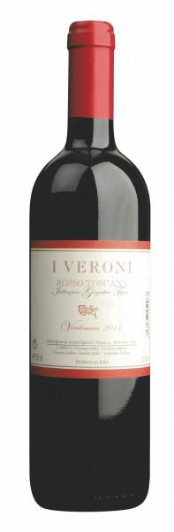 Fattoria I Veroni, Rosso di Toscana I.G.T., 2015