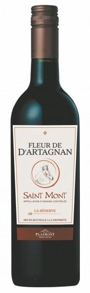 Fleur de d'Artagnan, La Réserve de d'Artagnan Rouge AOP Saint Mont, 2017