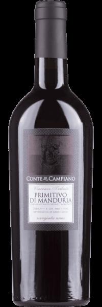 Conte di Campiano, Primitivo di Manduria, 2016