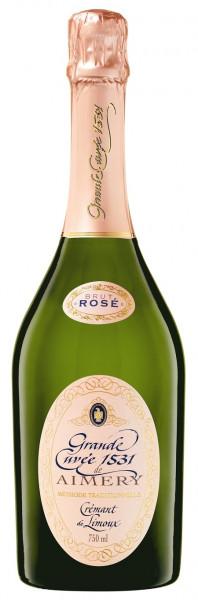 Sieur d'Arques, Aimery Grande Cuvée 1531 Crémant Rosé Brut