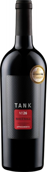 Camivini, Tank 26 Nero d'Avola IGT Appassimento, 2019